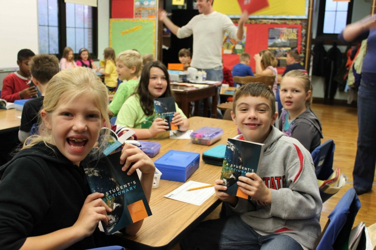 Each year, Clintonville Rotary provides every 3rd grader in Clintonville with their very own dictionary.  This program is part of the club's commitment to literacy. The goal of this program is to assist all students in becoming good writers, active r